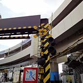 京急蒲田駅。この一番上にいたのだ。