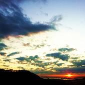 最終日の日の出