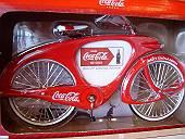 コカ・コーラの自転車