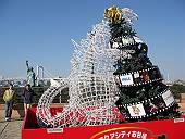 お台場のクリスマス・ゴジラ