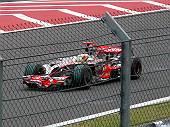 日本GPのマクラーレンMP4-23(ハミルトン)
