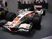 スーパーアグリに初ポイントをもたらしたSA07のベースマシンであり、ホンダにも優勝をもたらした名機RA106