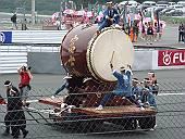 昨年の日本GPでの富岳太鼓