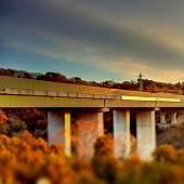 横々道路の高架