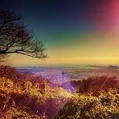 大丸山から八景島を眺める