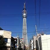 わりと間近に見た東京スカイツリー