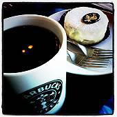 スタバでコーヒーブレイク(マウスオンで、ピタクロ・タッチ)